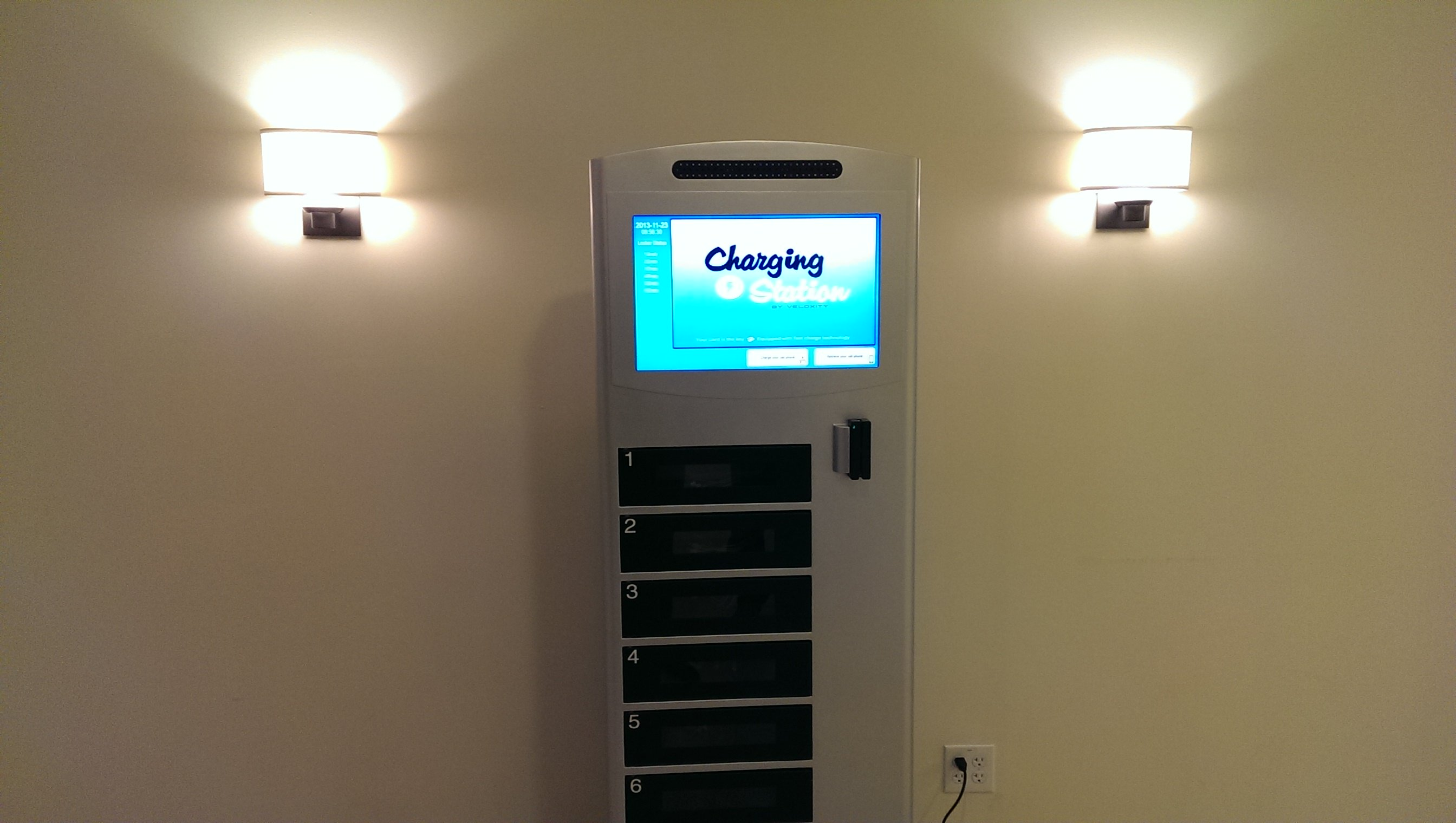 Cell Phone Charging Stations With Lockers