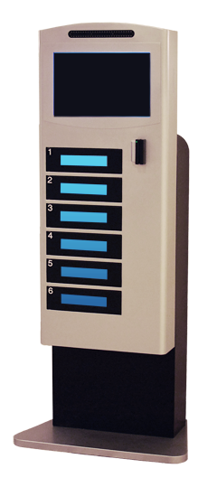 Commercial Cell Phone Charging Stations and Kiosks for Multiple Devices