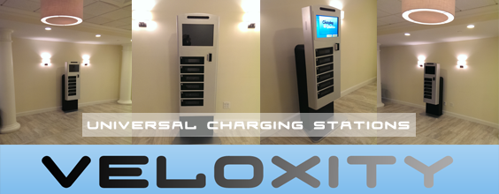 Commercial Cell Phone Charging Stations