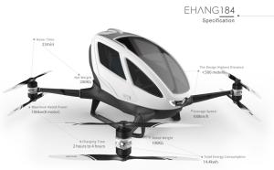 Ehang Prototype Drone