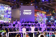 Samsung Gear VR booth CES
