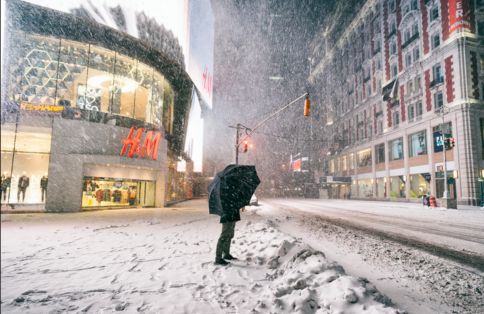 Winter Snow Storm Juno Unplugs Customers from Retailers