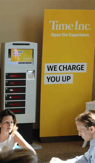 rent phone charging stations for conferences