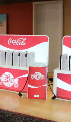 rent Portable charging stations for events