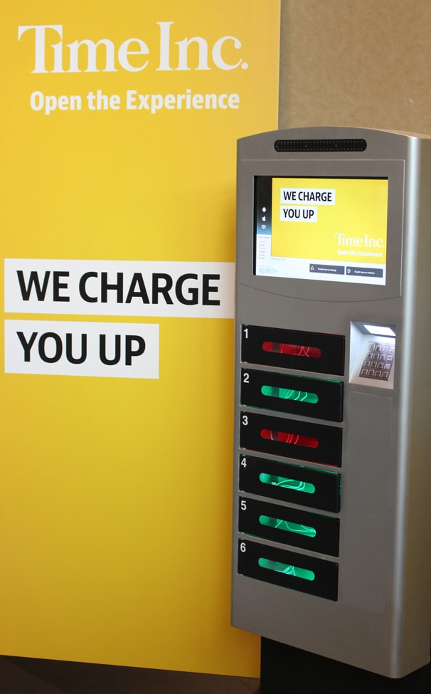 Veloxity Phone Charging Kiosks News