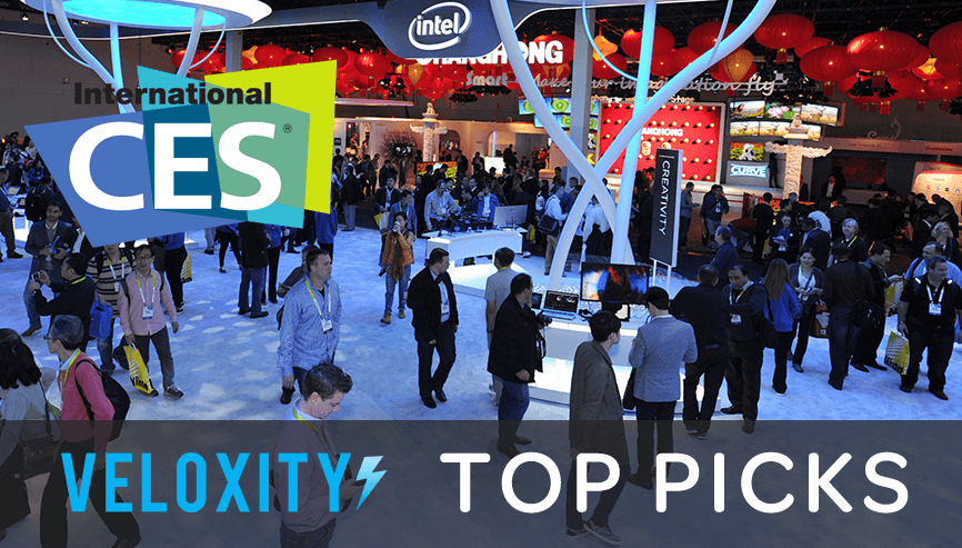 Veloxity's top picks at CES 2016: Virtual Reality, Portable Power Stations, Wireless Charging, USB Batteries and More!