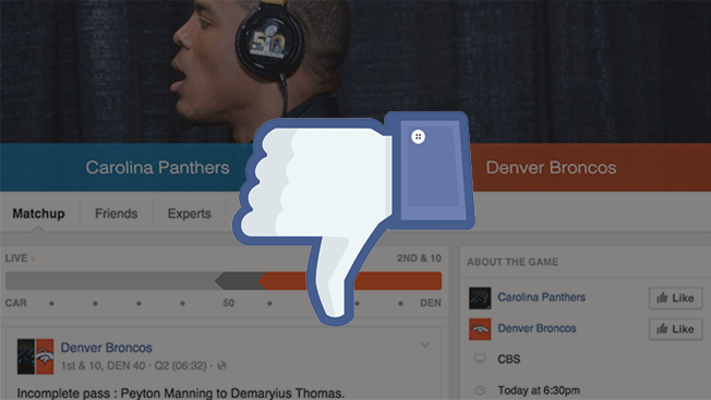Facebook's Sports Stadium Didn't Impress Cell Phone Users During Super Bowl