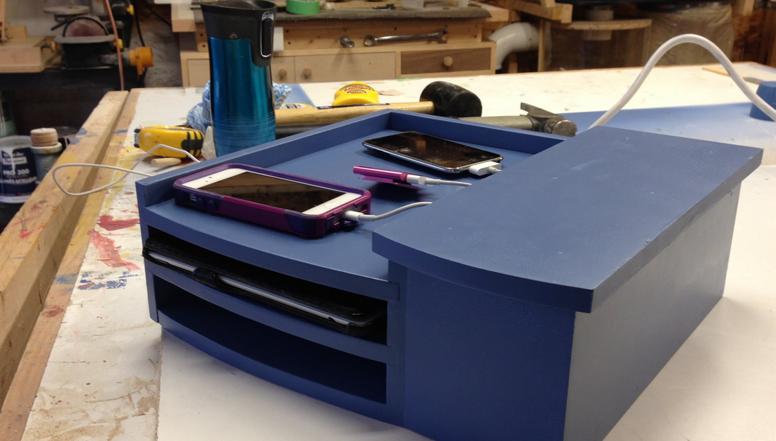 Diy Cell Phone Charging Station Veloxity