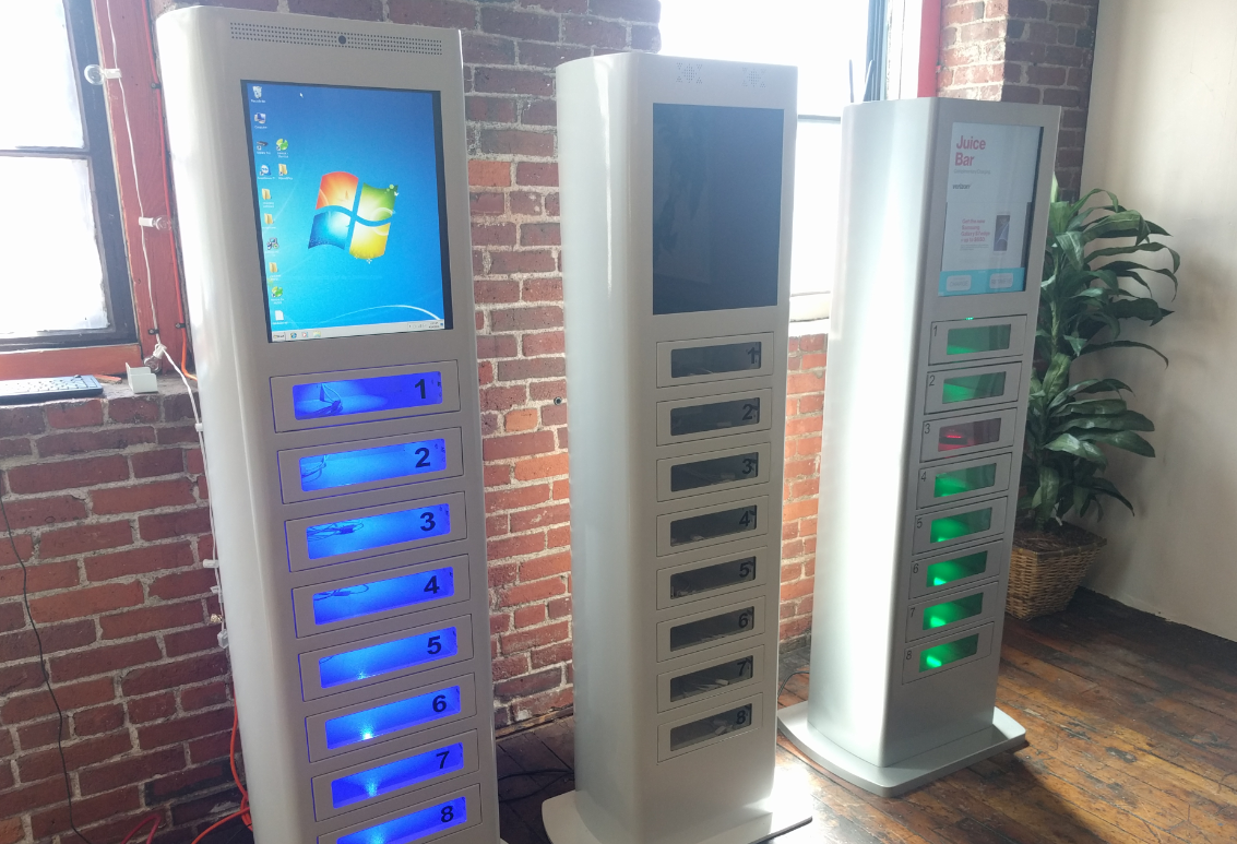... Phone Charging Station. Veloxityu0027s New Generation Kiosks U2013 Set To  Launch In May 2016