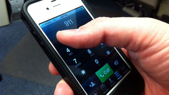 Dialing 911