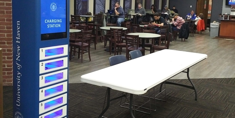 Phone Charging Kiosks at Community Colleges