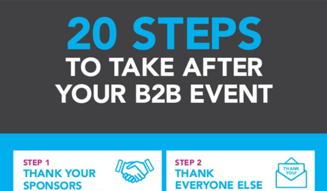 How to Improve Your Event: 20 Post-Show Steps