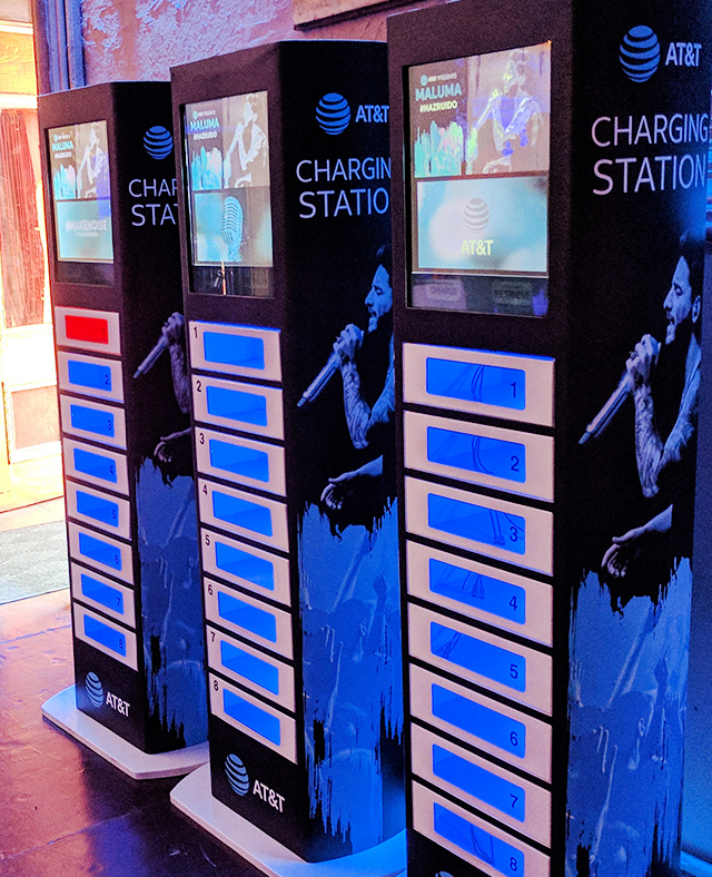 cell phone charging lockers sxsw 2017